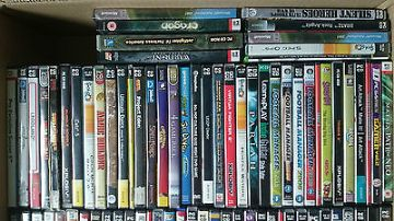 Collection of over 150  PC Games Job Lot